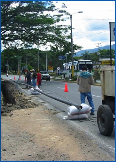 """Diseño y Construcción de Línea 4"""" Sch 40 -1465 Mts para gas Natural Vehicular EDS Ibagué Tolima"""