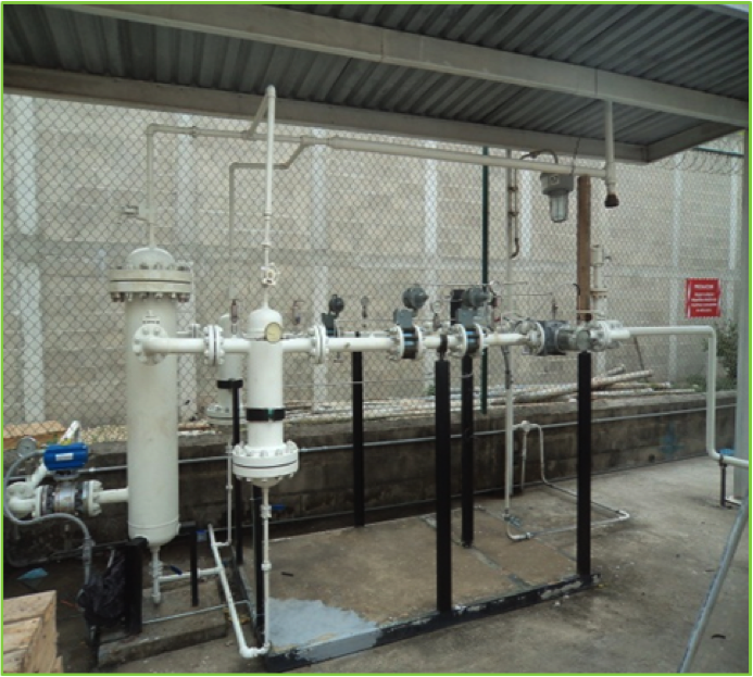Automatización y Mantenimiento General de Estaciones de Regulación y medición (E.R.M) para gas Natural Industrial y Vehicular