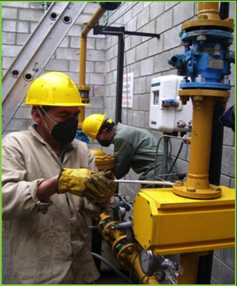 Automatización, Modificación y Mantenimiento General de E.R.M/GNV-EDS Villa Alsacia GNC Bogotá